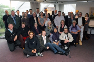 Mayors Reception photo Sept 2013 all volunteers
